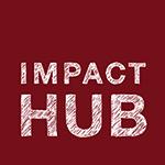 Impact Hub logo RED