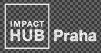 Impact Hub Praha logo WH