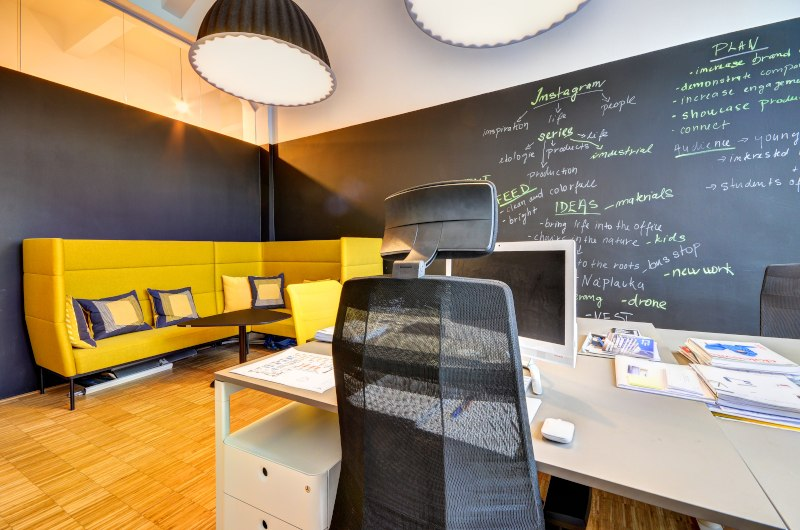 Office at Impact Hub Prague D10